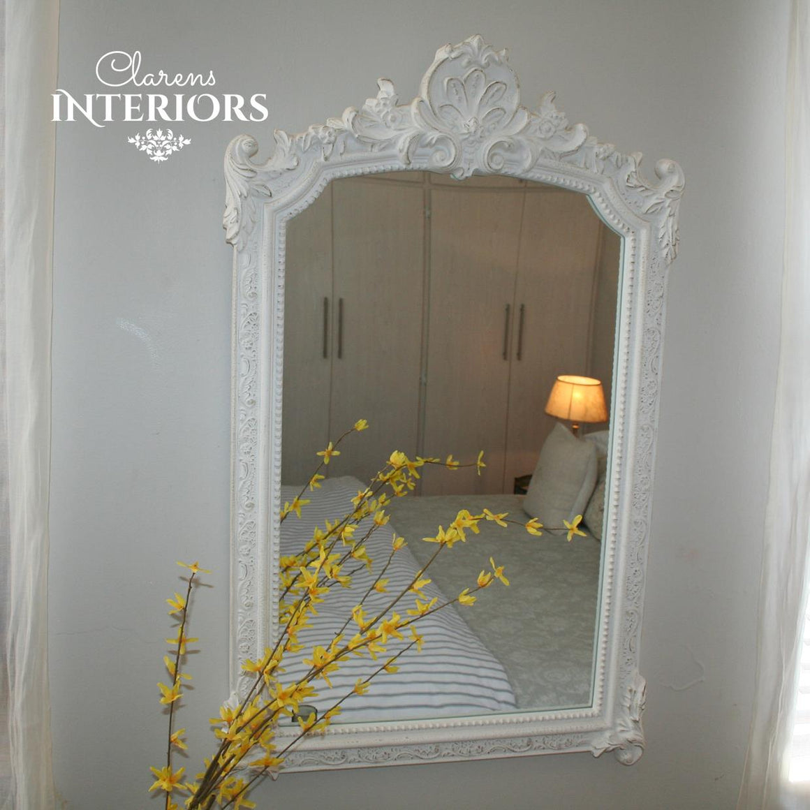 Charles Wall Mirror White