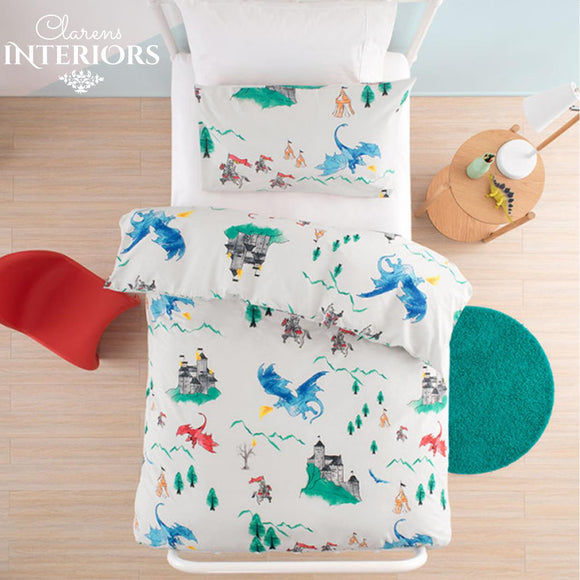 Dragons duvet cover set