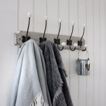 GREY WASH WOODEN HOOKS
