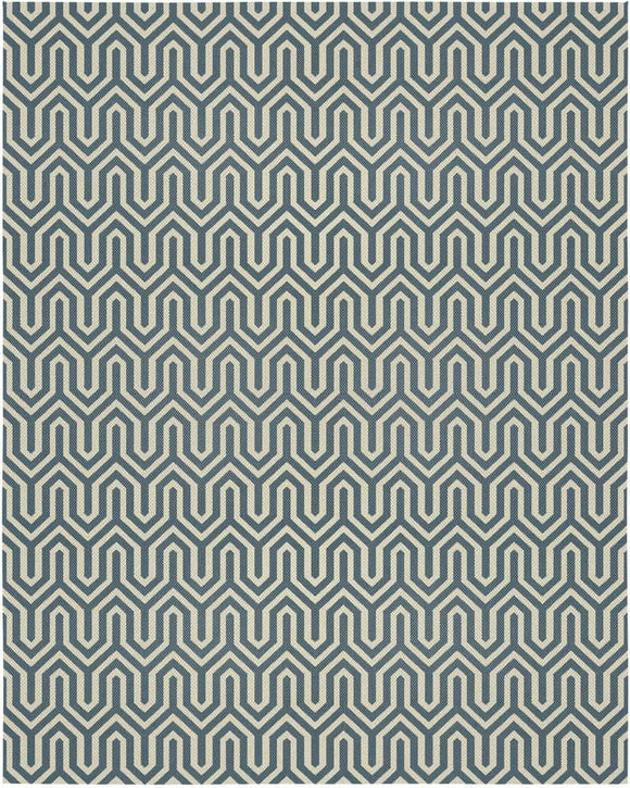 Graphic Rug - Navy