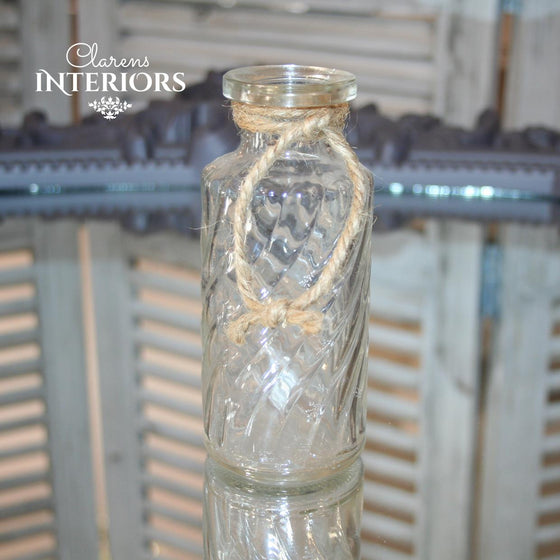 Perfume Glass bottle with Rope