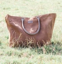JACKSON SMALL OVERNIGHT BAG - CHOCOLATE