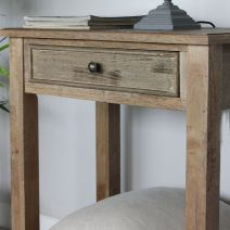 TETBURY NATURAL BEDSIDE TABLE