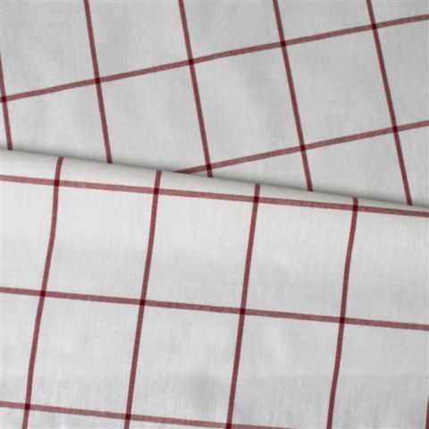 RED CHECK OILCLOTH