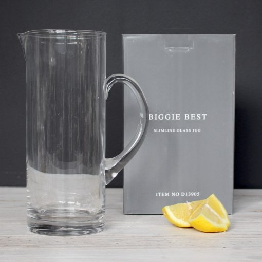SLIMLINE GLASS JUG - BOXED