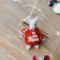 RED LARGE STAR MOUSE