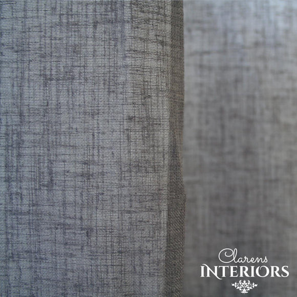 Willow Charcoal Curtain