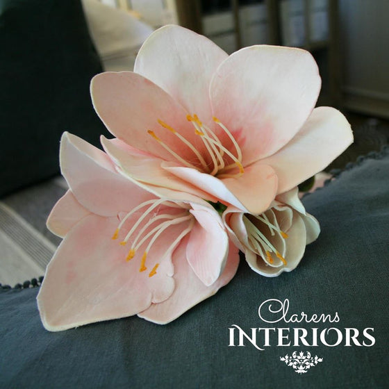 Amaryllis Spray - Pink