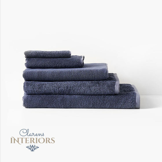 Nara Bluestone Towel Collection