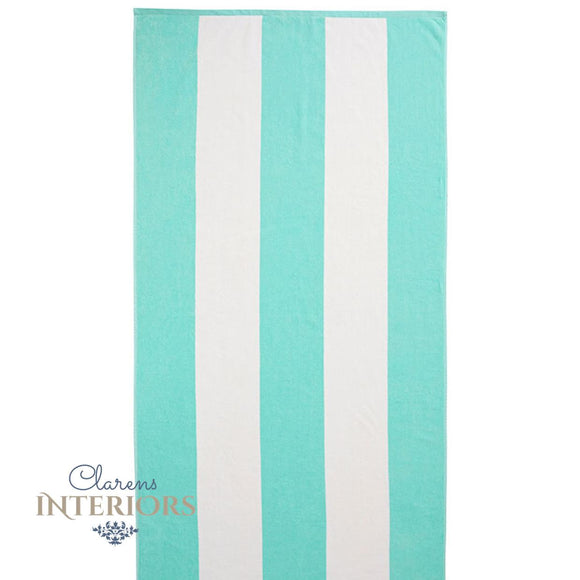 Cabana Aqua Beach Towel