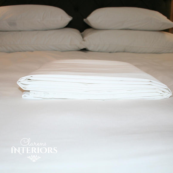 250TC Cotton White Flat sheet
