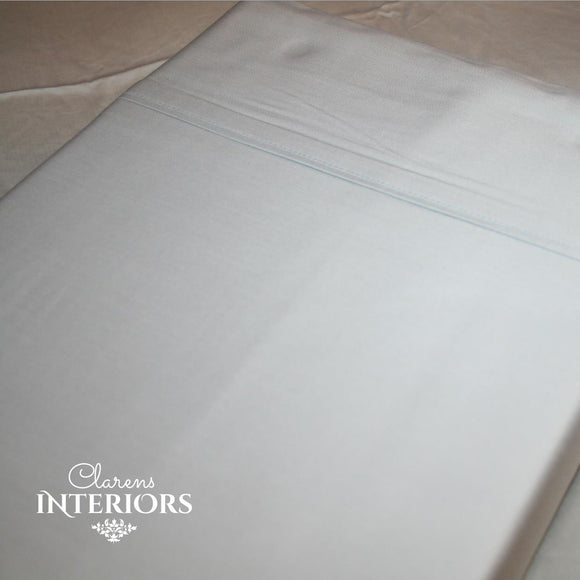 250TC Cotton Grey Flat sheet