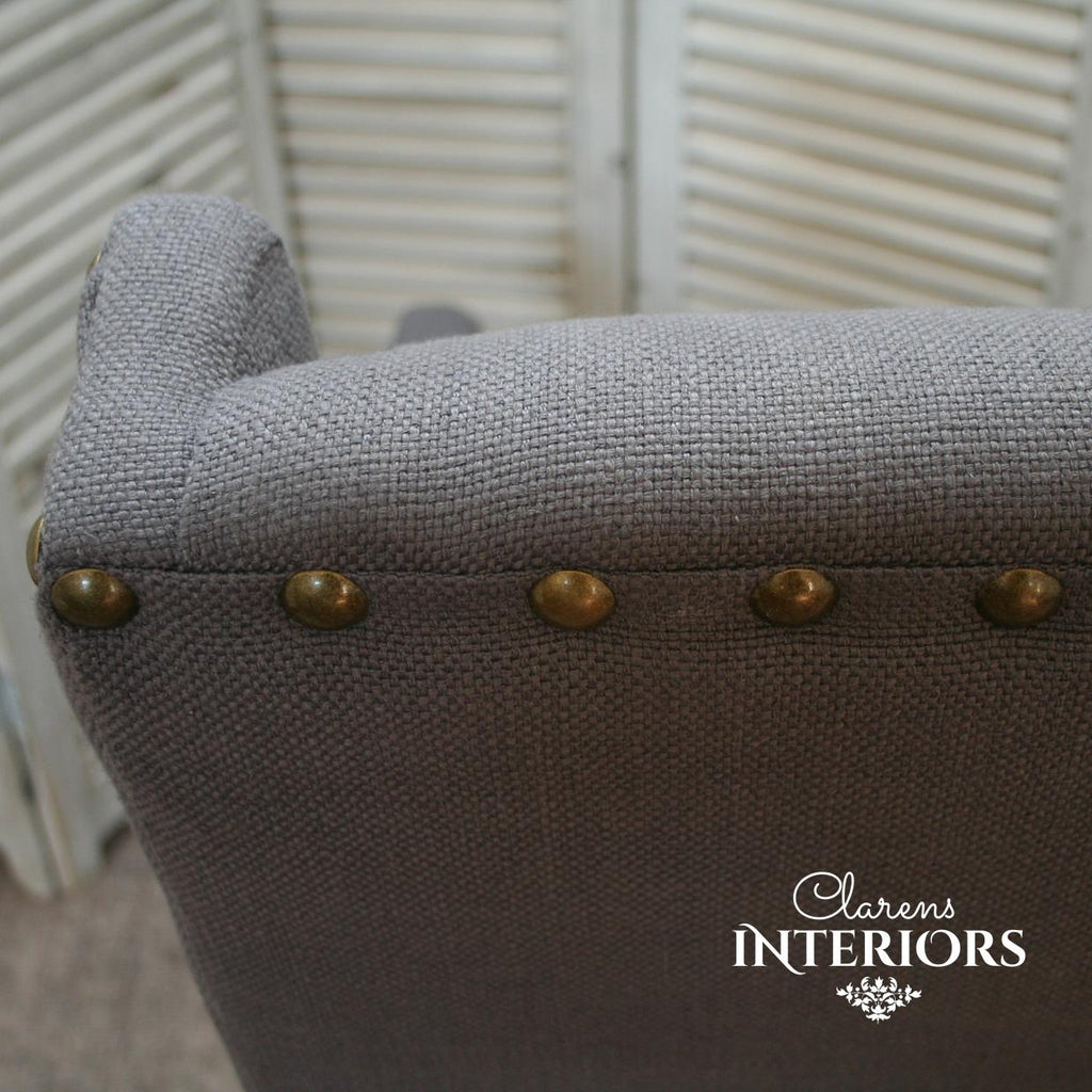 Morris Arm Chair Grey