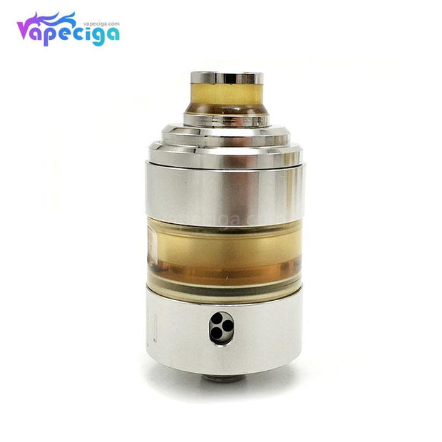 Coppervape Hussar Project X Style RTA 2ml 22mm Silver