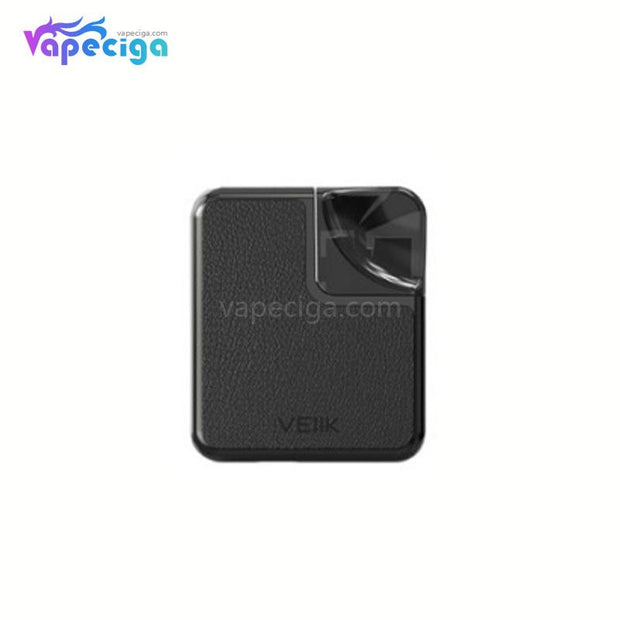 VEIIK Cracker Vape Pod System Starter Kit 500mAh 2ml Pu Version Plain Black