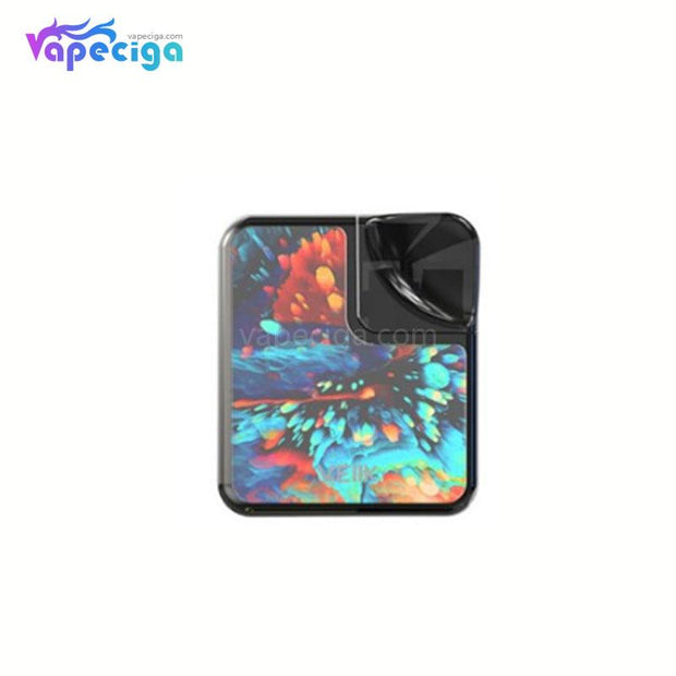 VEIIK Cracker Vape Pod System Starter Kit 500mAh 2ml Glass Version Dazzling Black