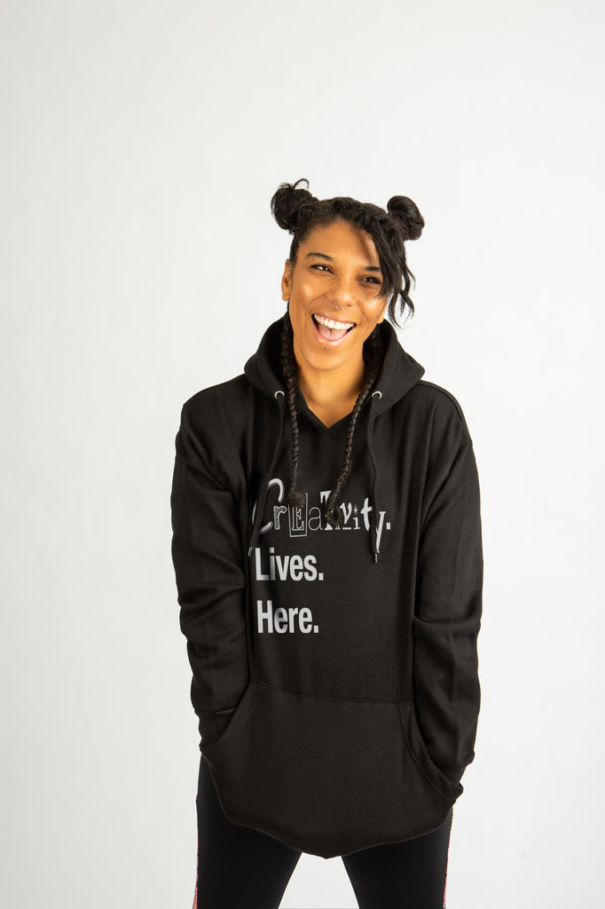 Creativity Lives Here Hoodie
