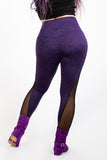 Highwaisted Purple Supplex Leggings