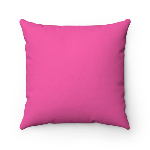 Pink Square Pillow Case