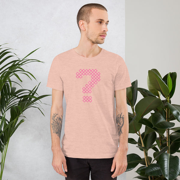 'Who is Otm Shank?' Diamond Question Mark Unisex T-Shirt