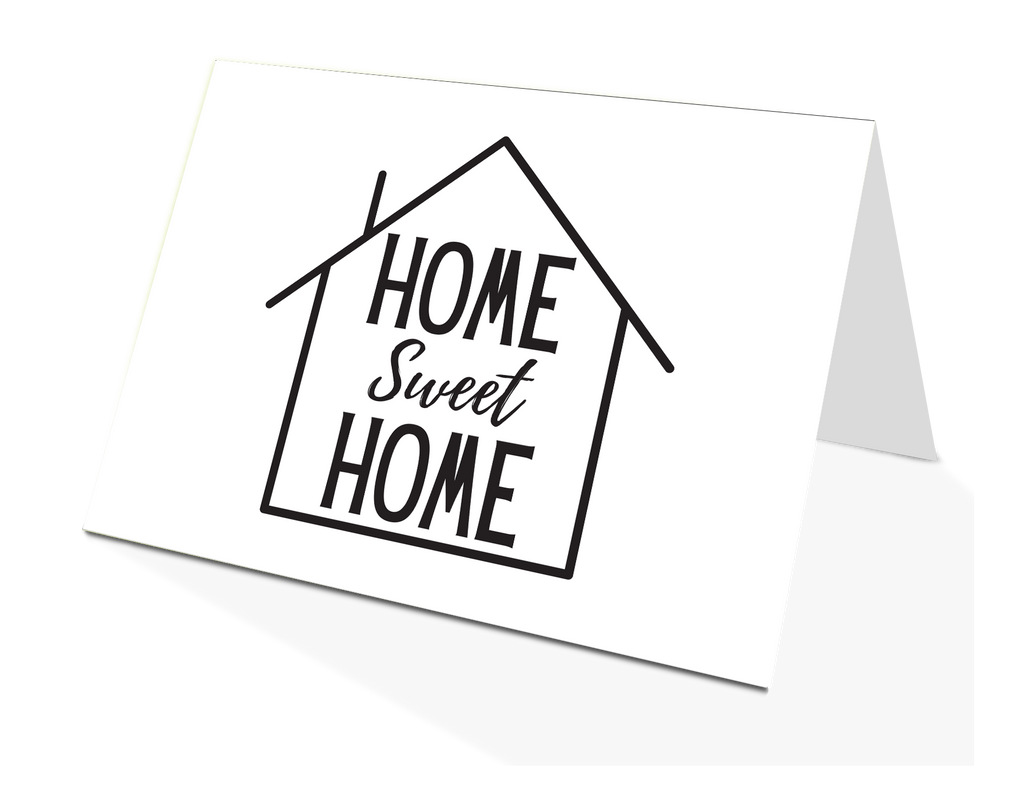 Home Sweet Home Greeting Card (50)