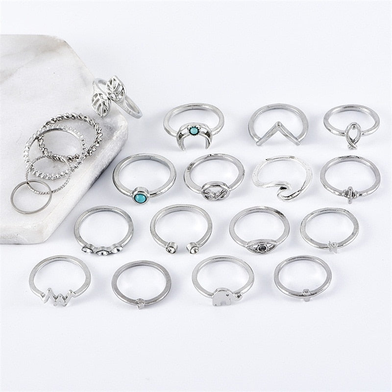 Nature Girl Ring Set