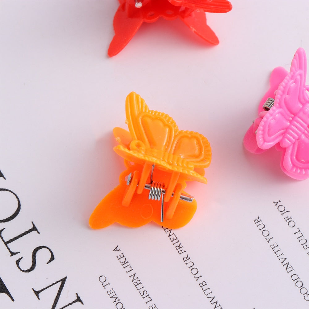 Mini Butterfly Clips Set
