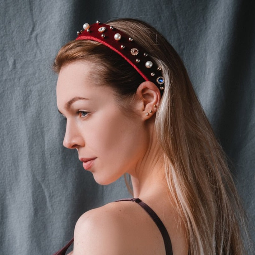 Jewel Padded Headband