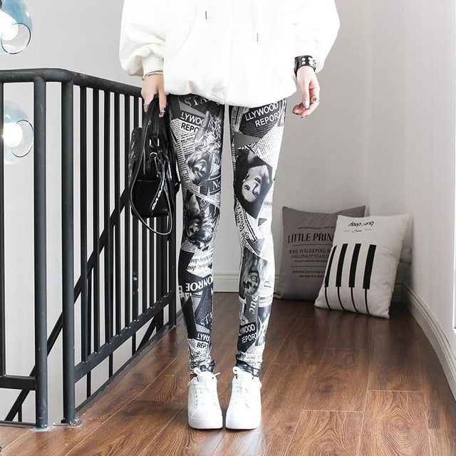Hollywood News Leggings