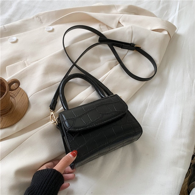 Crocodile Small Crossbody Bag