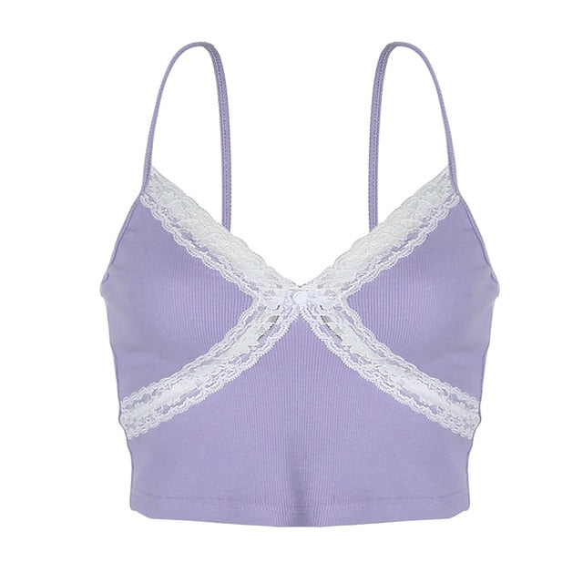Iris Lace Trim Cami