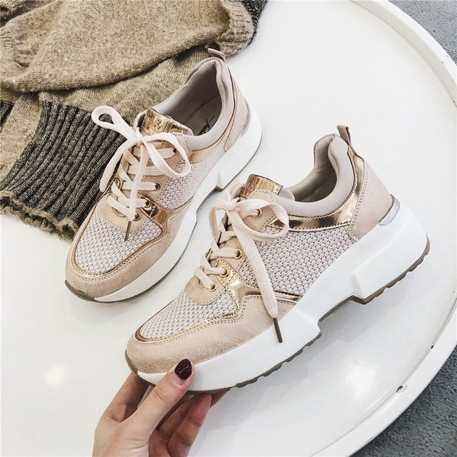 Ultra City Metallic Sneakers