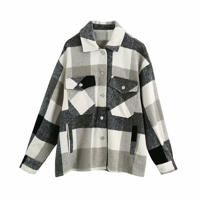 Val Flannel Shirt Jacket