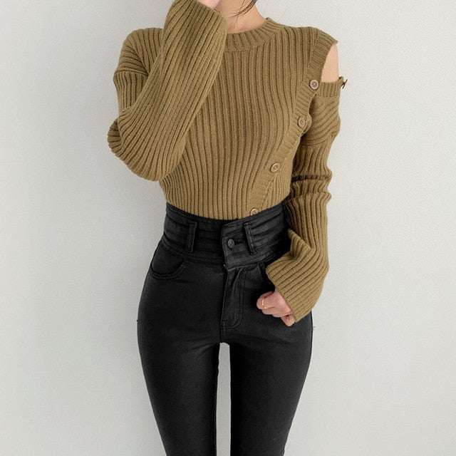 Natalie Asymmetrical Sweater