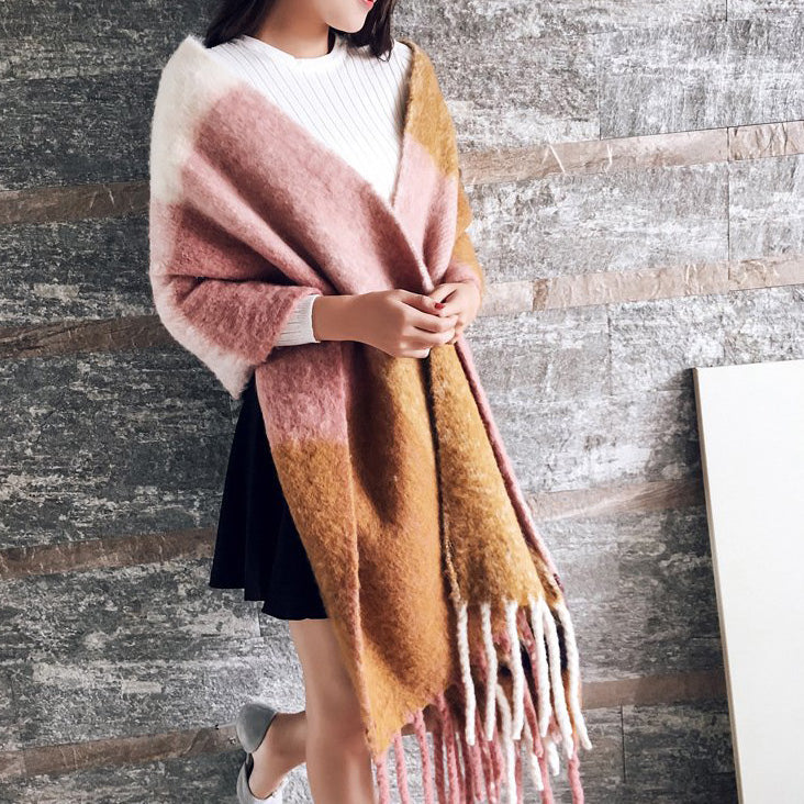 Brushed Blanket Scarf