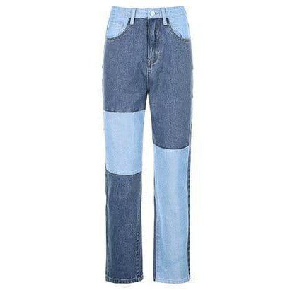 Patchy Relaxed Jeans