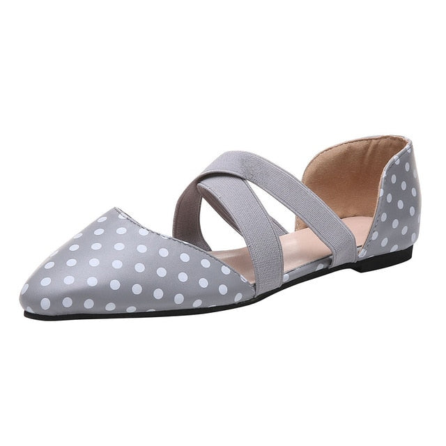 Gemmy Pointed Toe Flats
