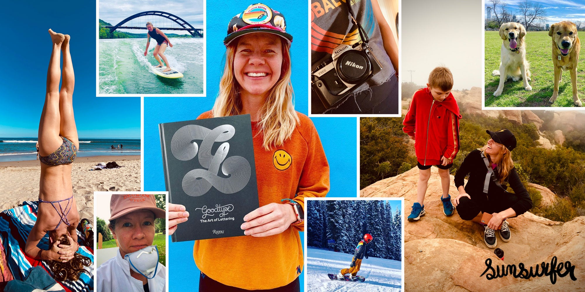BROOKE THE SUNSURFER COLLAGE