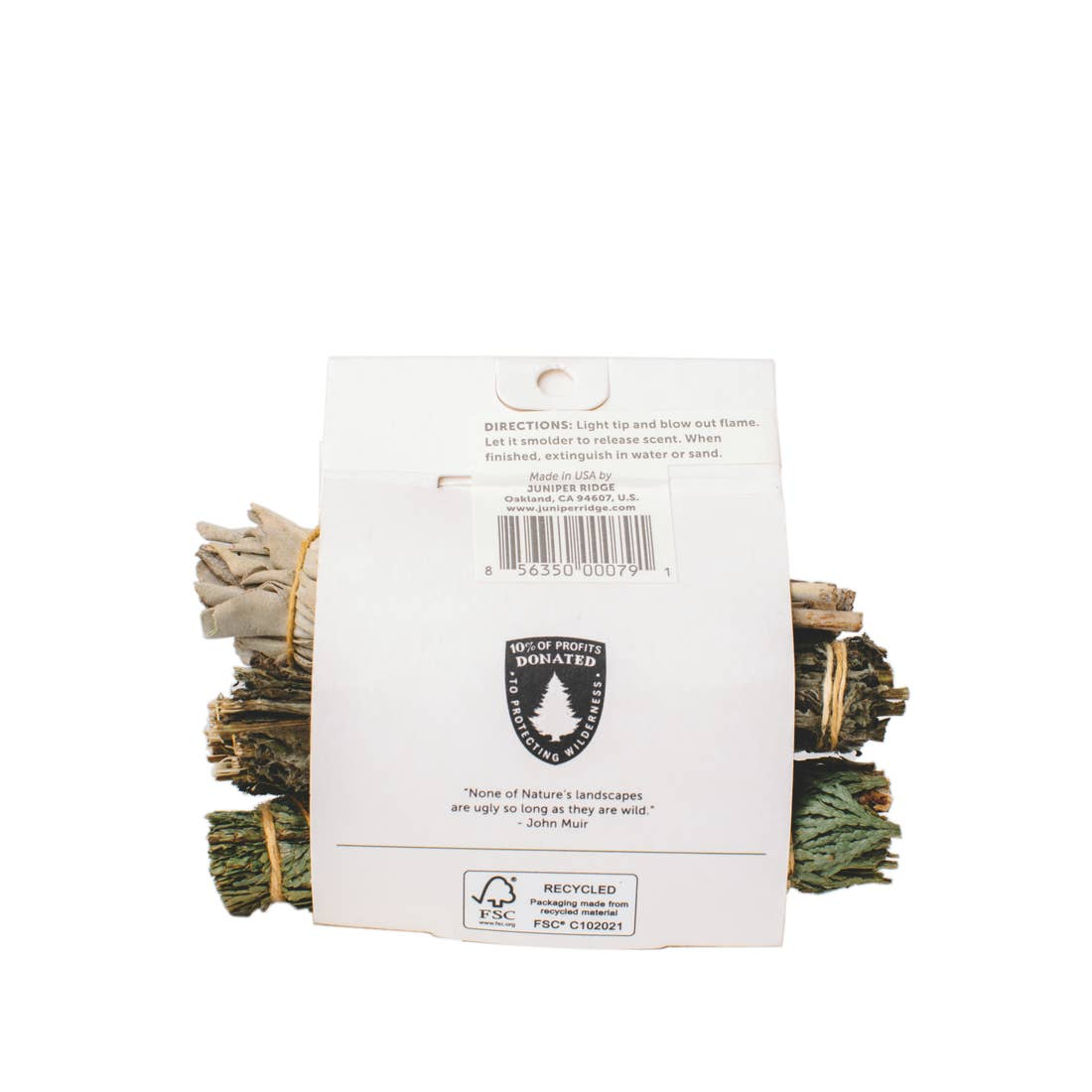 Natural Incense - Cedar| Mugwort | Sage