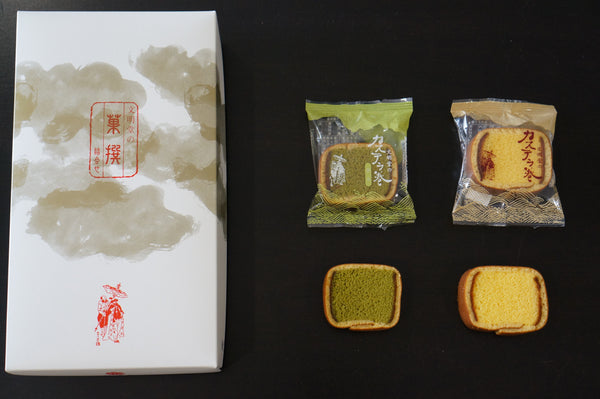 Bunmeido Japanese snack packaging