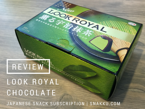 Look Royal Japanese Snack Review