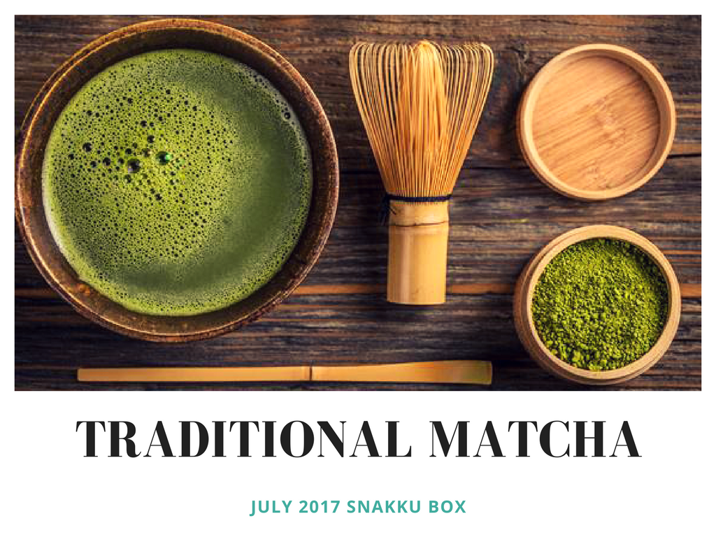 traditional matcha snacks