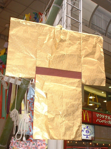 Paper kimono, kamigoromo, for Tanabata Festival in Japan