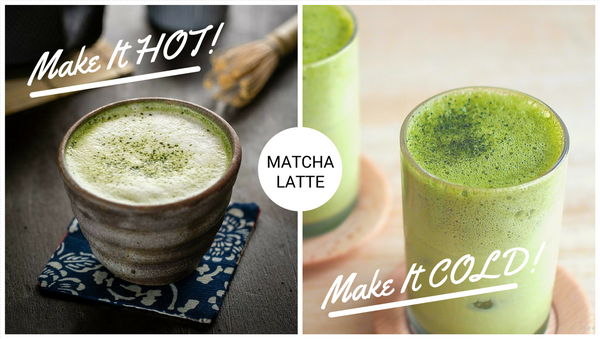 japanese matcha green tea latte recipe