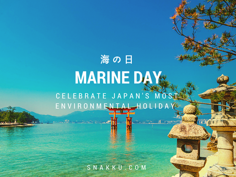 Japan's most environmentally friendly holiday marine day umi no hi