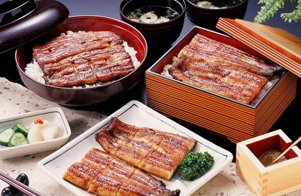 eel dishes Japan