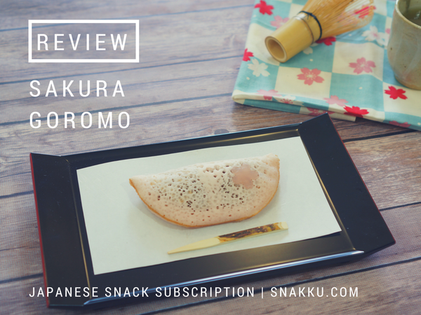 Japanese wagashi snack review