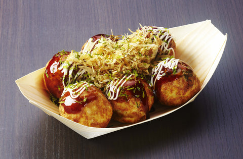 takoyaki snacks from Japan