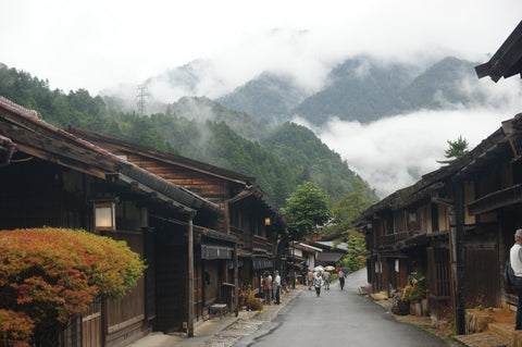 small rural japanese town
