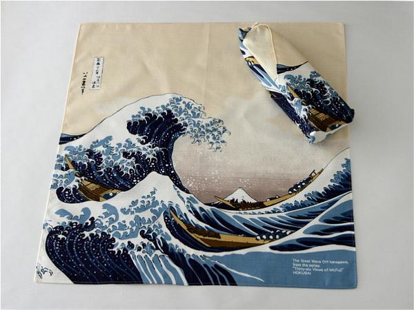 traditional furoshiki wrapping